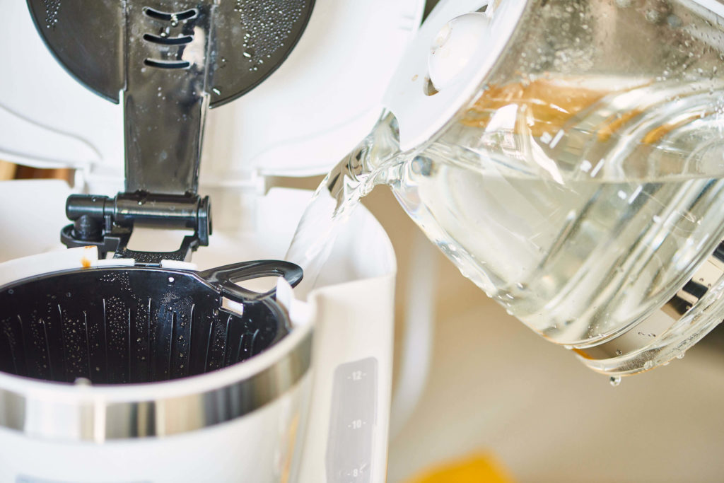 How To Clean Coffee Pot With Vinegar